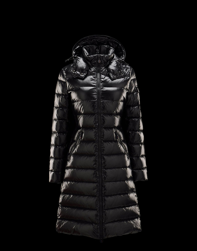 Cheap Moncler Long Coats For Women Black MC1165 Sale